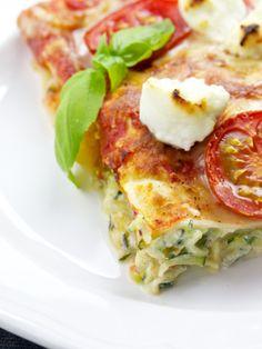Zucchini-Ricotta-Lasagne