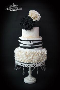 Miss Classic - by Hazel @ CakesDecor.com - cake decorating website