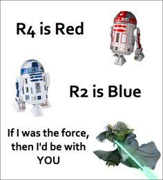 Star Wars pick up lines hehe