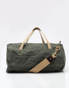 Duffle Bag Olive Twill - Archival Clothing $250