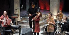 """""""The Klezmatics aren't just the best band in the klezmer vanguard; on a good night, they can rank among the greatest bands on the planet.""""  – Time Out New York"""