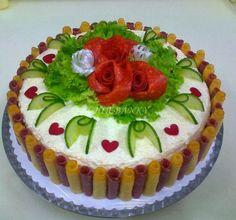 ** Salámový dort **: