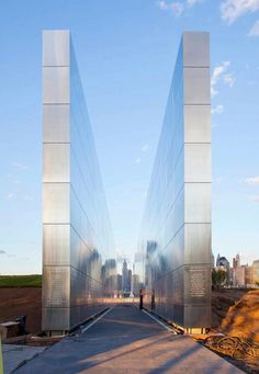 Empty Sky: The New Jersey 9/11 Memorial (beautiful detail behind this design)