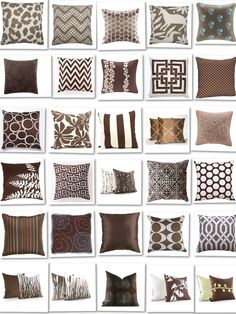 24 Best Fabric Family Room Chair Images Brown Pillows Cushions