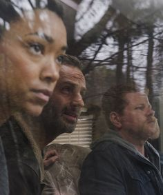 Sasha,Rick and Abraham   in  The Walking Dead Season 6 Episode 16 | Last Day on Earth