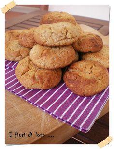 biscotti integrali miele e vaniglia