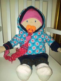 Hoodie im Partnerlook für die Puppe ☆★☆ genäht von Sarah D.