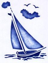 Free yacht stencil