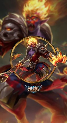 Wallpaper Phone Sun Monkey King by FachriFHR, Pugb Mobile, Wallpaper Phone Sun Monkey King by FachriFHR Source by vipbatman. Mobile Legend Wallpaper, Hero Wallpaper, Cool Wallpaper, Hero Fighter, Owl Mobile, Mobile Game, Images Of Sun, Alucard Mobile Legends, Moba Legends