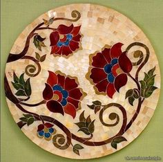Мозаичные столешницы Калле Сан-Педро (Эль-Саусехо, Испания).