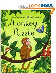 Monkey Puzzle: Amazon.co.uk: Julia Donaldson, Axel Scheffler: Books