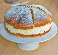 Semmeltarta - Swedish Cream Bun 'Cake' – Halal Home Cooking Cake Recipes, Dessert Recipes, Sugar Icing, Almond Paste, Rich Recipe, Instant Yeast, Eating Raw, Cream Cake, Sweet Bread