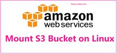 Mount S3 Bucket on Linux/Centos EC2 Instance using s3fs