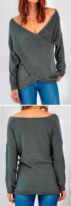 Have a trendy style now-$21.99 only! The look this crisscrossed front gives is beautiful! It drapes so well!
