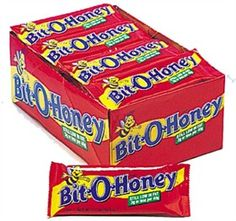 I liked this candy. It would now pull off all my crowns, though. I think it sucked out a few fillings as a kid. Retro Candy, Vintage Candy, My Childhood Memories, Sweet Memories, Bulk Candy Bars, Honey Candy, Retro Sweets, Vintage Sweets, Nostalgic Candy