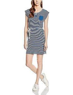 12, Blue - Bleu (Blue), Deeluxe Women's Dolcevita Girl Sleeveless Dress NEW