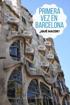 Primera vez en Barcelona : Lo que puedes ver en 3 días - Petite Touriste Barcelona Travel, Eurotrip, Spain Travel, Travel Tips, Places To Visit, To Go, World, Portugal, Trips