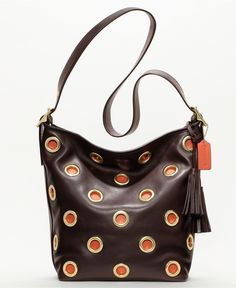 COACH LEGACY GROMMET DUFFLE - Legacy Collection - COACH - Macy's