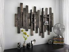 recycling ideas for modern wall decoration
