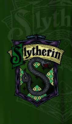 Slytherin cell phone background ♥