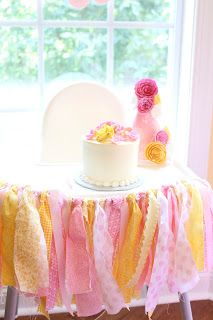 "Searching for Serendipity: ""You Are My Sunshine"" themed 1st birthday party"