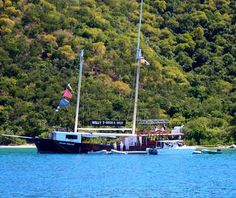 Willy T's Flaoting bar! British Virgin Islands