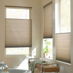 7 Trusting Cool Ideas: Living Room Blinds Large blinds for windows office.Blinds For Windows Blackout Shades ikea blinds basements.Blinds And Curtains Money. Cellular Shades, Living Room Blinds, Fabric Blinds, Shades Blinds, Home Decor, Bamboo Blinds, Modern Blinds, Diy Blinds, Honeycomb Shades