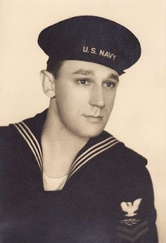 """Original Pinner - """"My grandfather. World War II Navy submarine sailor, decorated veteran, radio genius, electronics wizard and artist. A man I never really had the privilege of knowing, but always looked up to nonetheless. Here is my blog about his accomplishments.""""..."""
