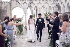 Intimate Wedding at the cloister, Grand Hotel Convento Amalfi, by Lost In Love Photography Amalfi Coast Wedding, Amalfi Coast Italy, Sorrento Italy, Capri Italy, Naples Italy, Sicily Italy, Venice Italy, Summer Wedding Venues, Wedding Reception Venues