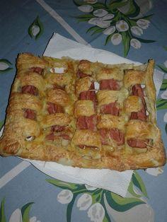 Virsli, sajt és leveles tészta, pár perc és kész is a finom vacsora! - Bidista.com - A TippLista!