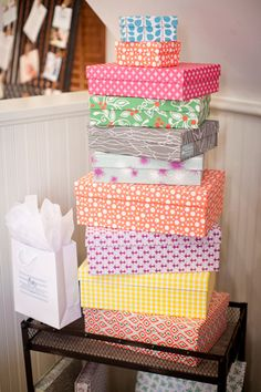 beautiful patterned boxes