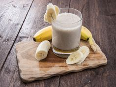 Whip up this Banana Coconut Smoothie for breakfast or an afternoon snack! With only 3 ingredients, it's a quick recipe that everyone is sure to enjoy!