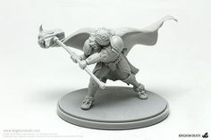 Kingdom Death_White Knight Heavy (Miniature)