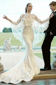 Alexander McQueen Bridal Water Dress | alexander mcqueen see more about lace wedding dresses stunning wedding ...