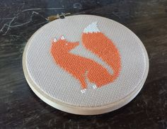 Red Fox Cross Stitch Pattern Instant Download от WinsomeStitches