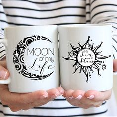 Moon of My Life, My Sun and Stars. Khaleesi & Khal Game of Thrones Coffee Mugs by JitterMug