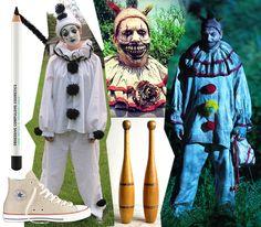 twisty the clown - american horror story freak show halloween costume ideas