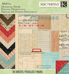 KCompany Designer Paper Pad Kelly Panacci Eclectic 12 by 12Inch >>> You can find more details by visiting the image link.Note:It is affiliate link to Amazon.