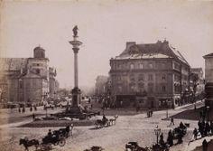 Kolumna Zygmunta na placu przed Zamkiem Królewskim