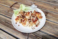 Zwiebel-Topfen-Nockerl - Rezept Cauliflower, Cabbage, Vegetables, Food, Vegetarian Cooking, Onions, Clean Foods, Food And Drinks, Food Food