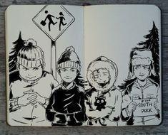 #244 South Park by Picolo-kun