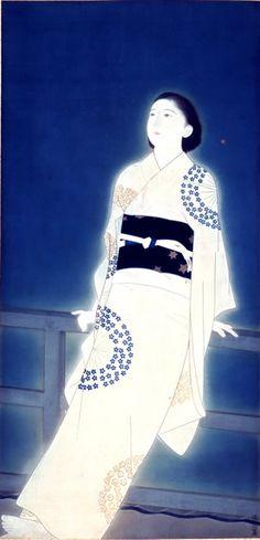 taishou-kun:Kitano Tsunetomi 北野恒富 (1880-1947)Hoshi 星 (Star) - 1939