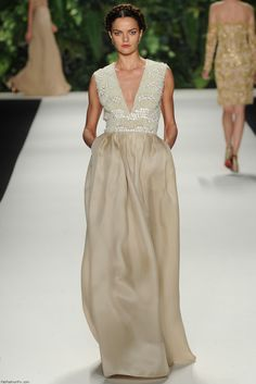 Naeem Khan spring/summer 2014 collection - New York fashion week