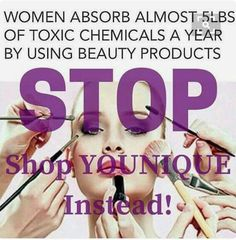 Think about this ladies. I suffer from multi chemical allergies and the products by Younique do not break me out. Love it.