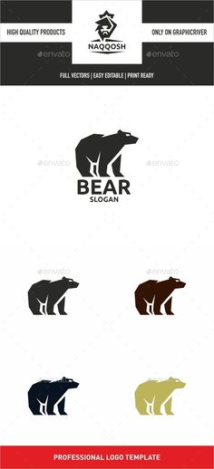 Bear — Vector EPS #mountain #warriors • Available here → https://graphicriver.net/item/bear/13642634?ref=pxcr