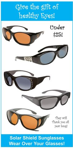 3a1706285c4 Solar Shield sunglasses are the perfect gift for everyone on your list!  Under  25 Fit