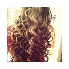 HOW TO DO SPIRAL CURLS CURLING WAND HAIR TUTORIAL Braidsandstyles12 ❤ liked on Polyvore featuring beauty products, haircare and hair styling tools