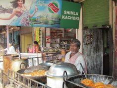 Shimla #Kachori Shop, Pardesipura Chowk, #Indore #Street #Food #India #ekPlate #ekplatekachori