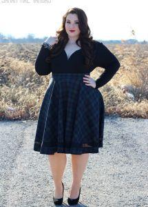 The Curvy Fashionista | eShakti for the Petite Plus Size Fashion Lover