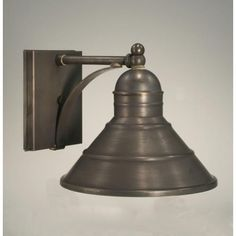 Barn Dark Brass One Light Outdoor Wall Light Northeast Lantern Wall Mounted Outdoor Outd